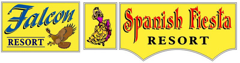 Spanish Fiesta & Falcon Resort Logo