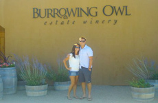Wine tour in Osoyoos, BC